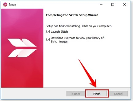 Cara Screenshot Skitch di Windows